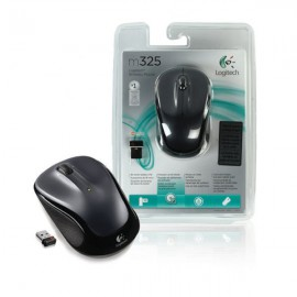 Logitech M325 Wireless Mouse Dark Silver 910-002142