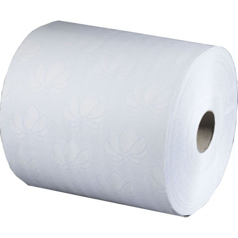 Tork Electronic White 2-ply Hand Towel Roll 195mm sca83076 pack Of 6