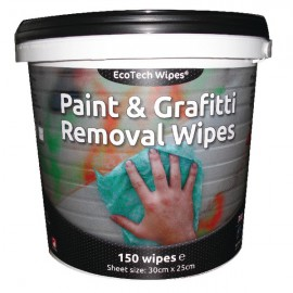 EcoTech Paint and Graffiti Wipes Tub of 150 EBPG150