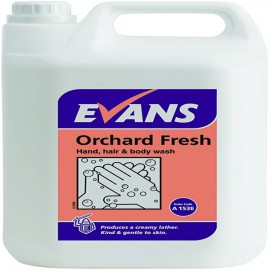 Evans Orchard Fresh Hand and Body Wash and Shampoo 5 Litre A153EEV2