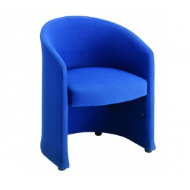 Slender single seat tub chair