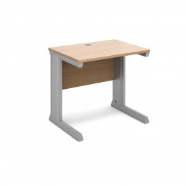 Vivo straight desk 600mm deep