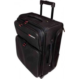 Monolith Wheeled Overnight Laptop Case Black 1329