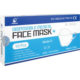 Whitebox Disposable Ultra Facemask Type IIR (Pack of 10) WX67011