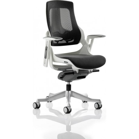 Zure Executive Chair Charcoal Mesh With Arms 3wm Direct