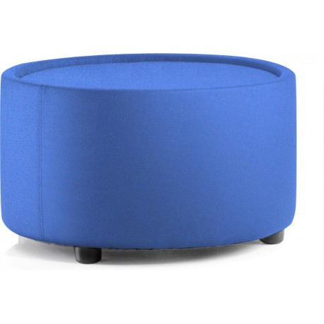 Neo Round Table Blue Fabric