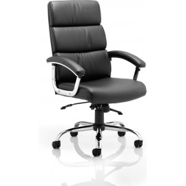 Desire Executive Chair Black With Arms With Headrest