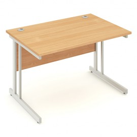 Straight Desk Cantilever Leg