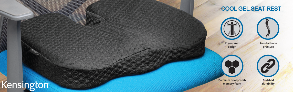 Kensington Cool Gel Seat Cushion